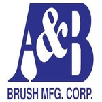 An image of a logo for A&B Brush Manufacturing Corporation