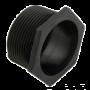 Polaris, Universal Wall Fitting, Black, 6-550-00, or 25563-164-000