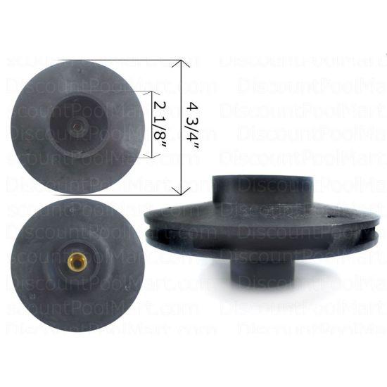 Pentair, 1-1/2HP, Impeller, Whisperflo Pump | 073129 |V20-204 | 25305-129-000