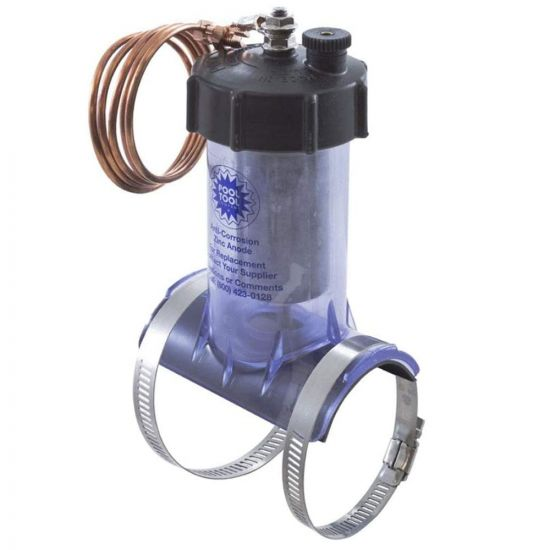 """Pool Tool, Inline Zinc Anode Anti-Electrolysis 2""""   104C   104-C"""