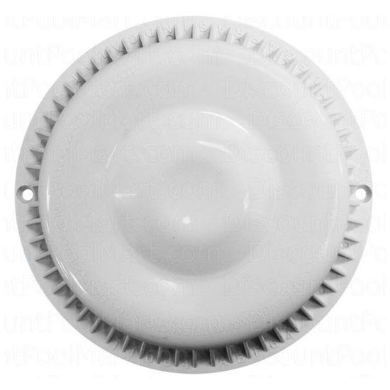 Afras Anti Vortex Drain Cover 7 3/8 inch White, 11064W