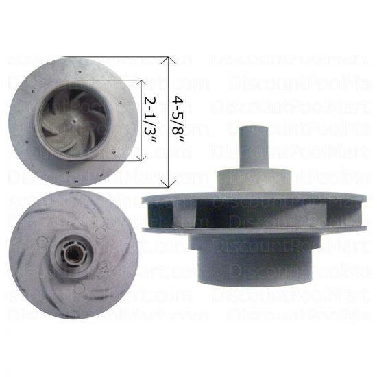 WATERWAY, 4 HP Impeller Assembly 310-4190