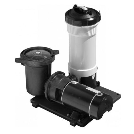 Waterway TWM Above Ground Pool Motor Cartridge Filter System, 520-3010