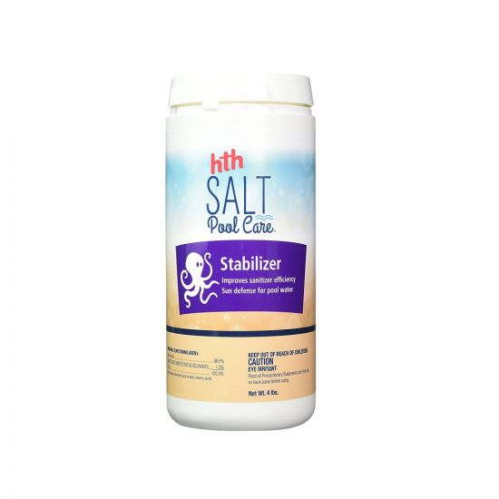 HTH, Stabilizer Salt Swimming Pool Care 4 lbs, 67003