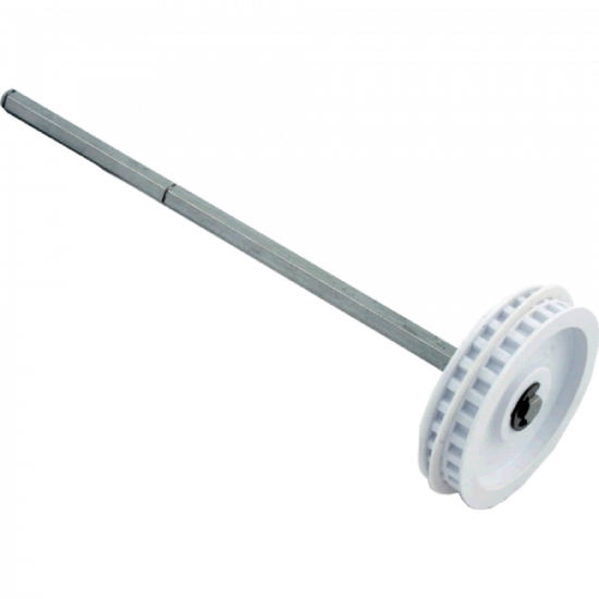 Polaris, 380 Cleaner, Transfer Pulley and Drive Shaft Assembly, 9-100-1007