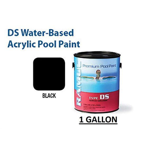 RAMUC DS Acrylic Black Pool Paint, RAM910132101
