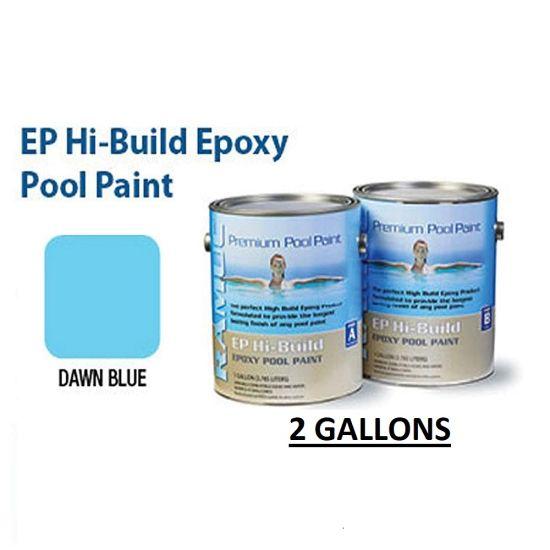 RAMUC, Hi-Build Epoxy Premium Epoxy Dawn Blue Pool Paint, RAM912232802