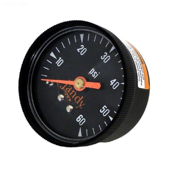 Jandy, DEV/DEL Filters, 0-60 PSI, Pressure Gauge, R0359600