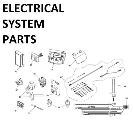 JXI400PK Electrical System Parts