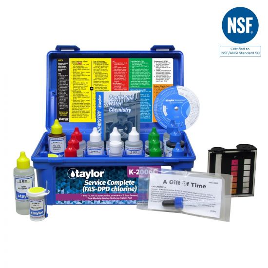 Taylor, Service Complete Pool Water Test Kit, K-2006-C