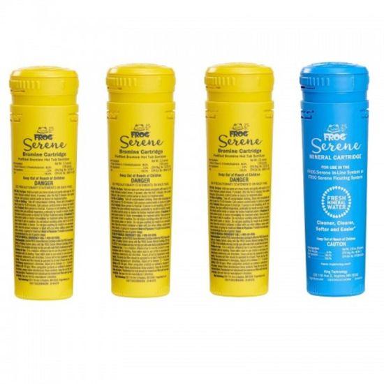 King Technology, Spa Frog Cartridge Refill Kit, 01-14-3856