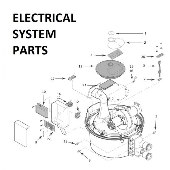 Max-E-Therm 250 ASME Electrical System Parts