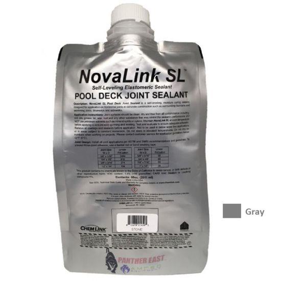 Chemlink, Novalink SL Pool Deck Self-Leveling Sealant, Gray, F1239GR