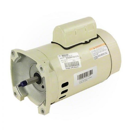 Pentair, 1/2HP, Single Speed, Square Flange Motor, 115/230V | 355018S | 075232S