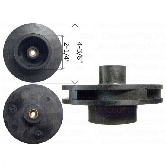 Jandy, Impeller & Diffuser w/ Screw and O-Ring, 0.50HP and 0.75HP  R0445301