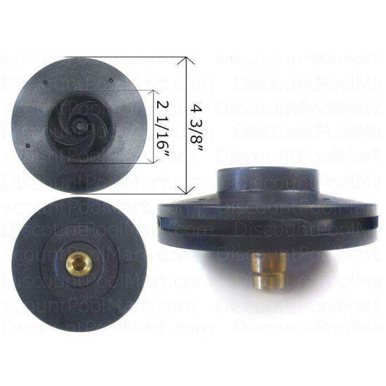 Hayward, Impeller 1.5 HP, MaxFlo Pump   SPX2610C   25305-610-000