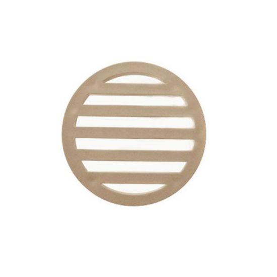 "3"" Plastic Drain Cover (Tan), SW-95-991"