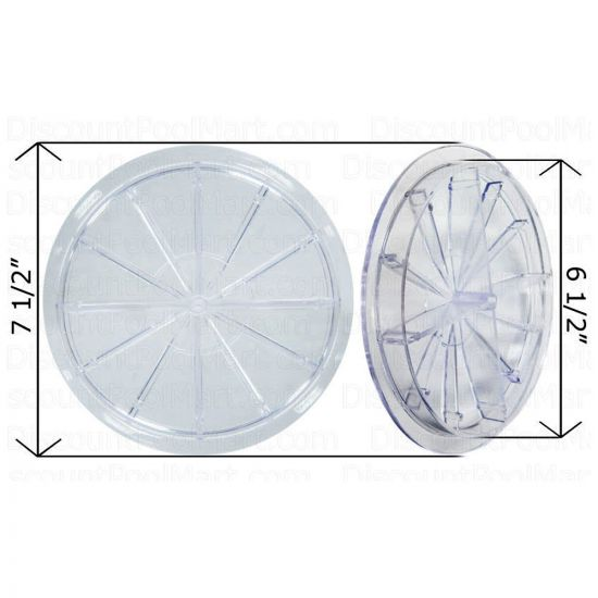 """Val-Pak, Wet Industries 6"""" Clear Lid 6 1/2""""   V65-100"""