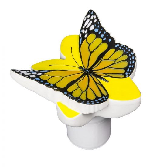 Poolmaster, Chlorine Dispenser for Swimming pools and Spas, Yellow Butterfly, 32128