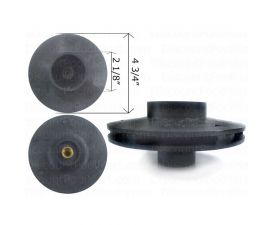 Pentair IMPELLER FOR WHISPERFLO 1hp | V20-203 | 25305-128-000 | 073128 | PCG073128