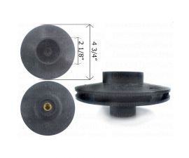 Pentair IMPELLER FOR WHISPERFLO 1-1/2hp or V20-204 , 25305-129-000 or 073129