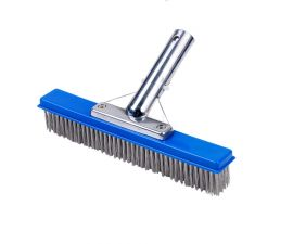 11024B Stainless Steel Bristles Algae Brush 10in.