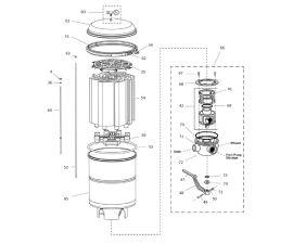 48 sq/ft 2000 Series DE Filter Parts