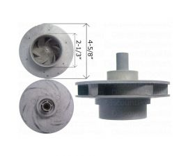 WATERWAY, 5 HP Impeller Assembly 310-4180