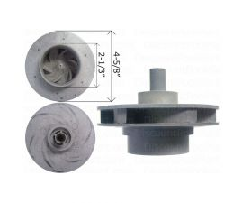 WATERWAY, 2 HP Impeller Assembly 310-4210