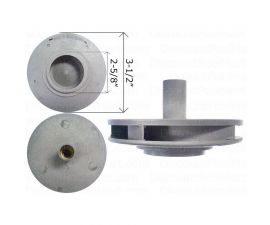 WATERWAY, Impeller Assembly 0.75 HP For Supreme Pump 310-5080