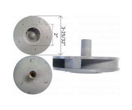 WATERWAY, Impeller Assembly 1.5 HP For Supreme Pump 310-5100