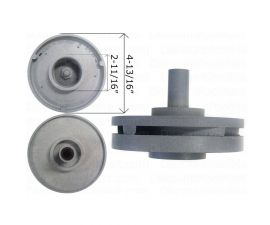 WATERWAY, Impeller Assembly For 0.75 HP Center Discharge Pump, 310-5120
