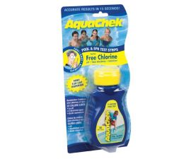 AquaChek, Yellow Test Strips 4 in 1 for Chlorine, pH, Alkalinity Cyanuric Acid, 511242A