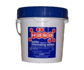 HAsa Jumbo Chlorinating Tablets, 63084
