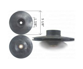 Pentair IMPELLER FOR MAX-E DURA 2hp FULL RATE 2-1/2hp UP RATE, C105-137PDA