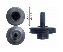PENTAIR, IMPELLER 1HP JW/JS SERIES C105-228P, C105-228PF