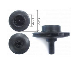 PENTAIR, IMPELLER FOR DYNA GLAS DYNA MAX 1hp or 1-1/2hp, C105-236PB