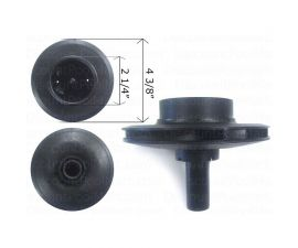PENTAIR, IMPELLER FOR DYNA JET1-1/2hp STARITE, C105-236PC