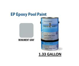 RAMUC EP Epoxy High Gloss Epoxy Monument Gray Pool Paint, RAM908136201