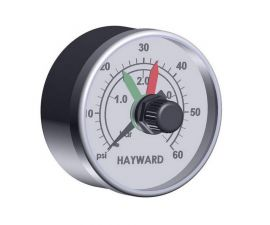 Hayward, Pro Grid & SwimClear Filters, Boxed Pressure Gauge w/ Dial, ECX2712B1