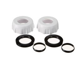 Hayward | GLX‑DIY‑CCN15 | Salt & Swim Nuts, Ring, and Collar for 1.5in plumbing