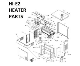 EHE350PS Propane Gas Heater Parts