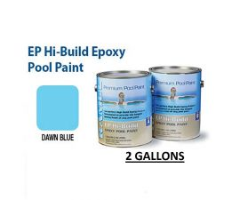 RAMUC, Hi-Build Epoxy Premium Epoxy Dawn Blue Pool Paint, RAM912232802