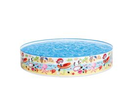 Intex, 47in x 10in, Beach Days Snapset Instant Kids Swimming Pool | 57140J