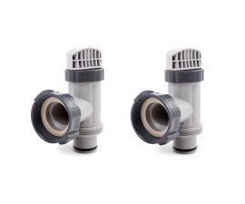 Intex, Above Ground Plunger Valves with Gaskets and Nuts  | 25080RP