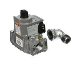 Jandy, LXI Heaters, Natural Gas Valve w/ Street Elbow, R0455200