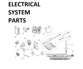 JXI260NC Electrical System Parts