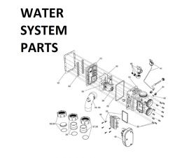 JXI400PN Water System Parts
