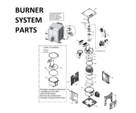 MasterTemp 250K BTU Burner System Parts