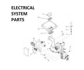 MasterTemp 175K BTU Electrical Sytem PARTS